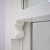 horn mock sash outside