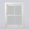 traditional hardwood sash window