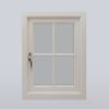 cottage wooden windows