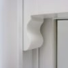 timber sash window horn